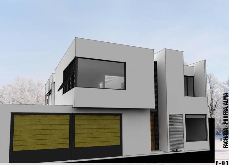 Fachada  final:  de estilo  por Imagen + Diseño + Arquitectura