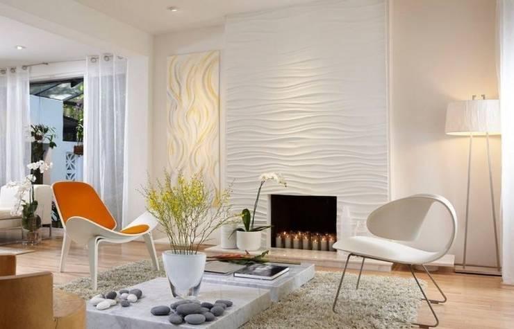 Thiết kế nội thất phòng khách đẹp :  Phòng khách by Thương hiệu Nội Thất Hoàn Mỹ
