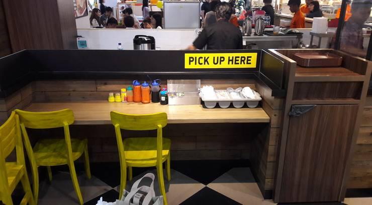 hanging table:  Restoran by Cendana Living