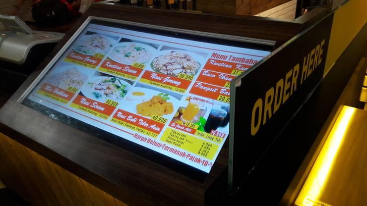 Counter Cashier:  Restoran by Cendana Living