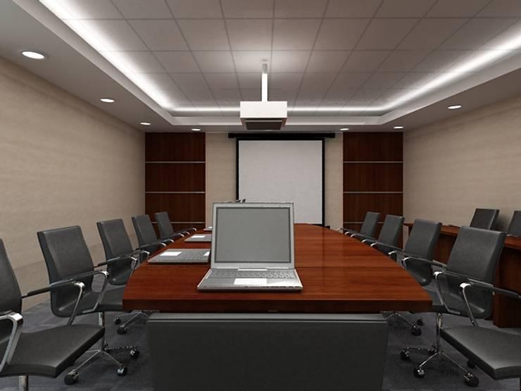 Meeting room 3rd floor view-2:  Gedung perkantoran by Cendana Living