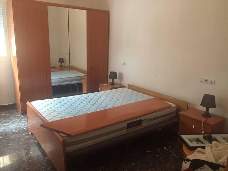 Dormitorio ppal antes:  de estilo  de CASA IMAGEN