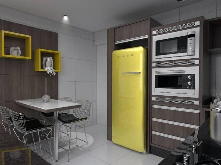 Modelos de Cozinhas Planejadas: Cozinha  por  ARQUITETOS ASSOCIADOS - AM