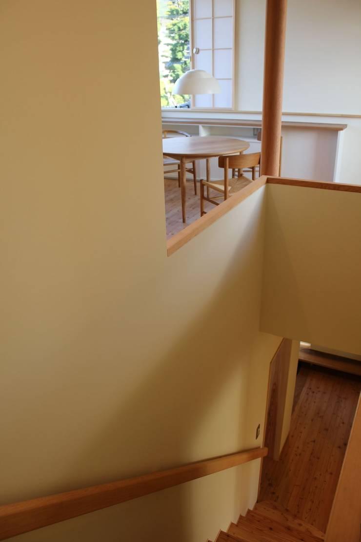 Escalier de style  par 北村建築設計事務所, Moderne