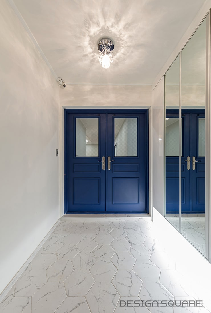 Corridor & hallway by 디자인스퀘어