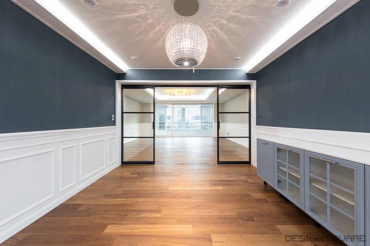 Dining room by 디자인스퀘어