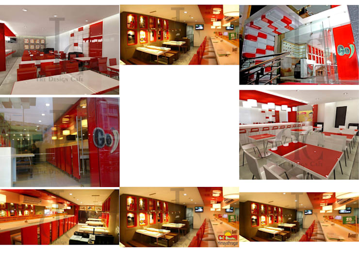 Cafe / Restaurant:  Hotels by The Design Cafe,Asian