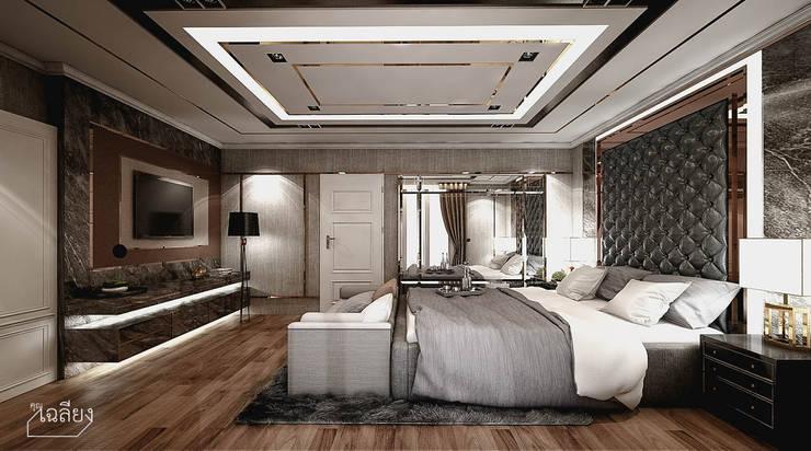 Home Renovate - Baan Klangmuang Pinklao-Charan:  ห้องนอน by คุณเฉลียง - ออกแบบตกแต่งภายใน