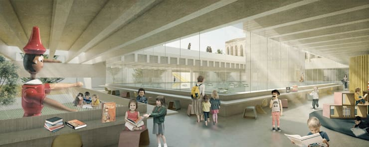 Espacios Interiores de Lúdico Arquitectos Moderno
