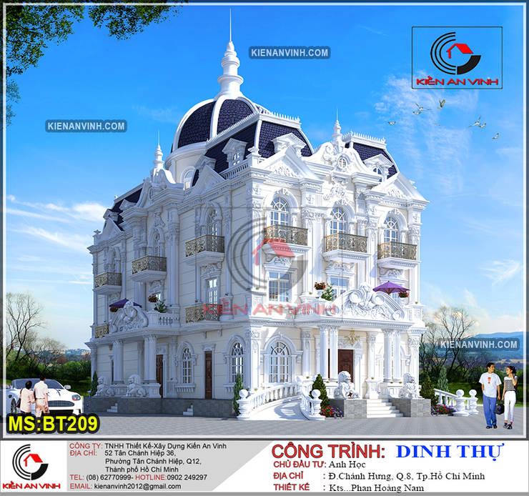 Dinh Thự xa hoa đẳng cấp được xây dựng ở tphcm:  Nhà by Kiến An Vinh