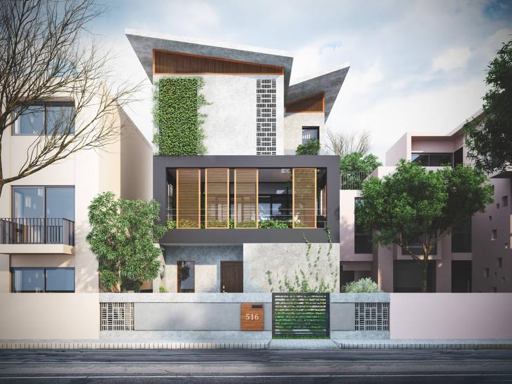 Scandinavian style houses by Studio Gritt Scandinavian
