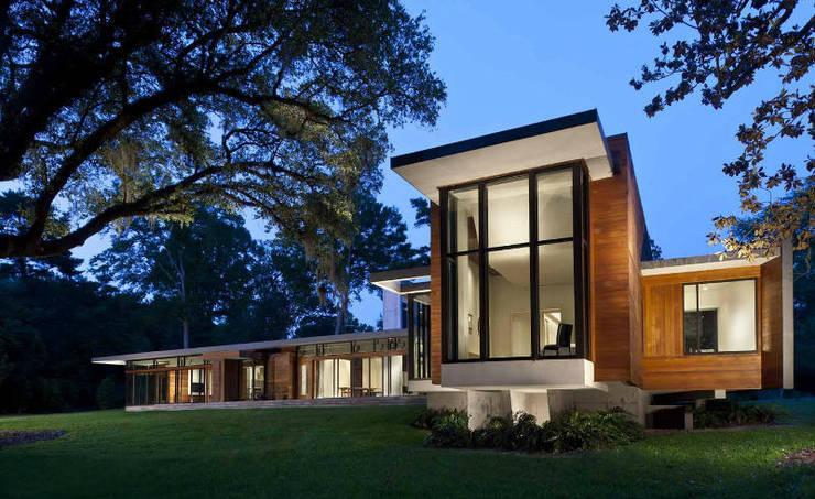 G-Stark Architecture – Modernist Rüya Ev:  tarz Ahşap ev