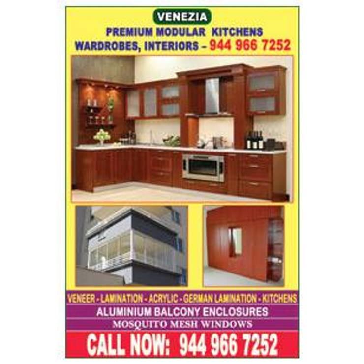 bangalore house services- Balcony covering apartment - glass shower partition bangalore 9400490326: classic  by BANGALORE ALUMINIUM Kitchen- MODULAR KITCHEN BANGALORE & Home INTERORS ALUMINIUM KITCHEN BANGALORE,Classic