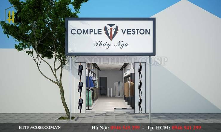 Thiết kế shop thời trang:   by thiết kế nội thất