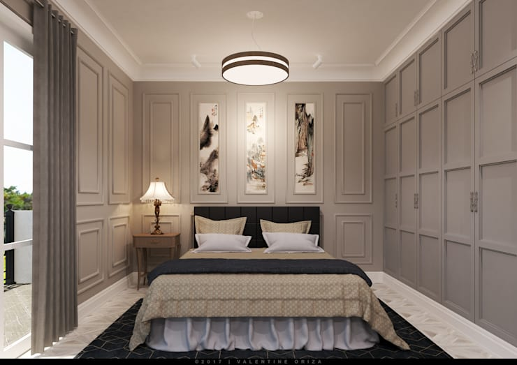 Bedroom View:   by D'Project Interior