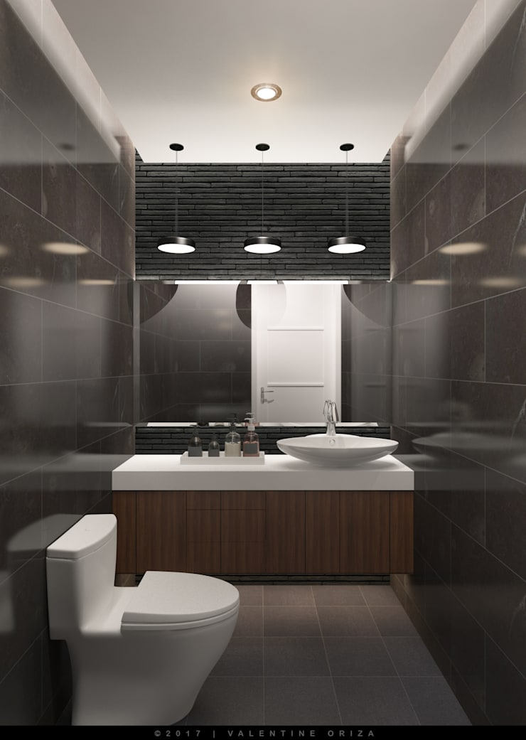 Toilet:   by D'Project Interior