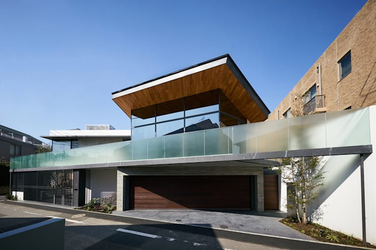 منزل عائلي صغير تنفيذ 有限会社コンパクツ一級建築士事務所