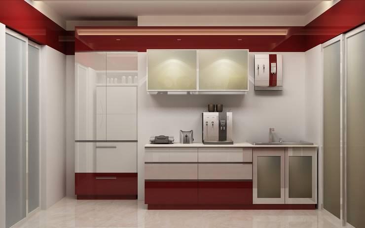 Interior:  Kitchen by DV Interiors,Modern