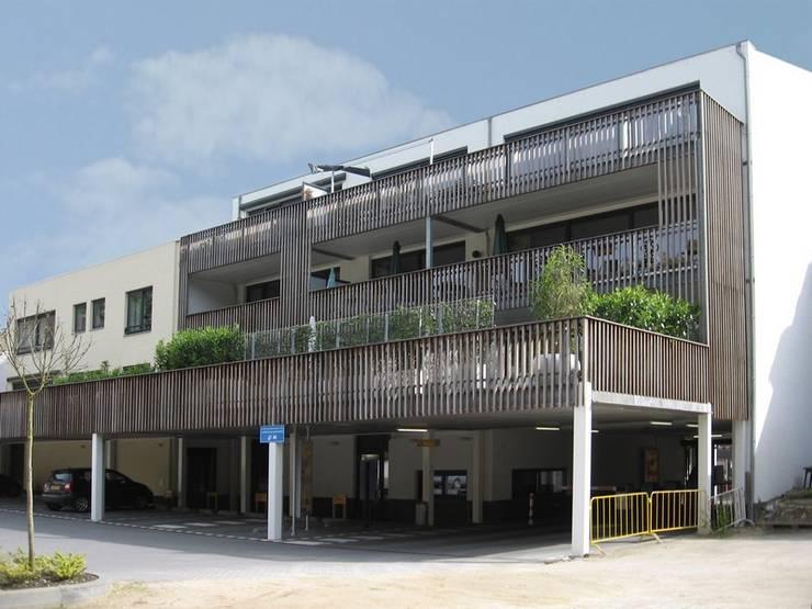 Winkels en appartementen, Valkenburg a/d Geul:  Eengezinswoning door Verheij Architecten BNA