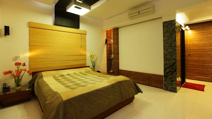 Doshi Residence:  Bedroom by Architecture Continuous