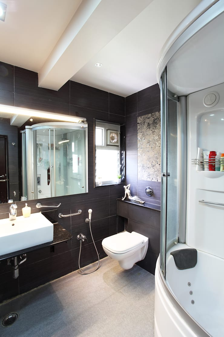 Doshi Residence:  Bathroom by Architecture Continuous,Modern