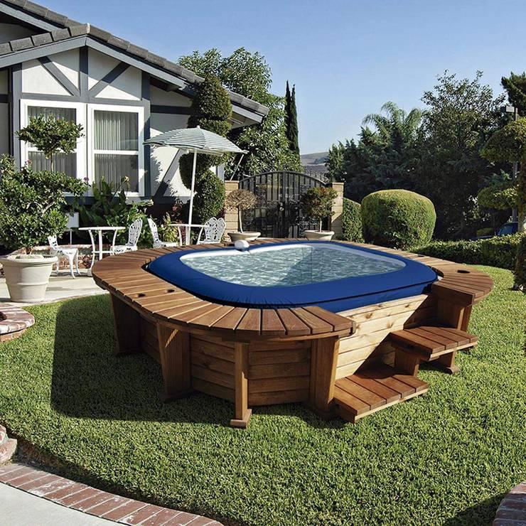 Spa hinchable K20 Lay-Z-Spa Malibu: Spa de estilo  de Kovyx Outdoor