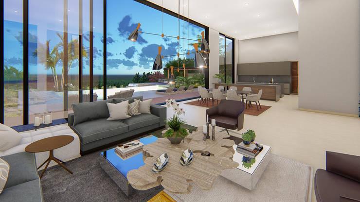 casa de campo pereira : Casas de estilo moderno por astratto