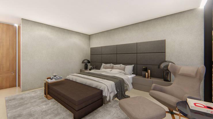 casa de campo pereira : Habitaciones de estilo moderno por astratto