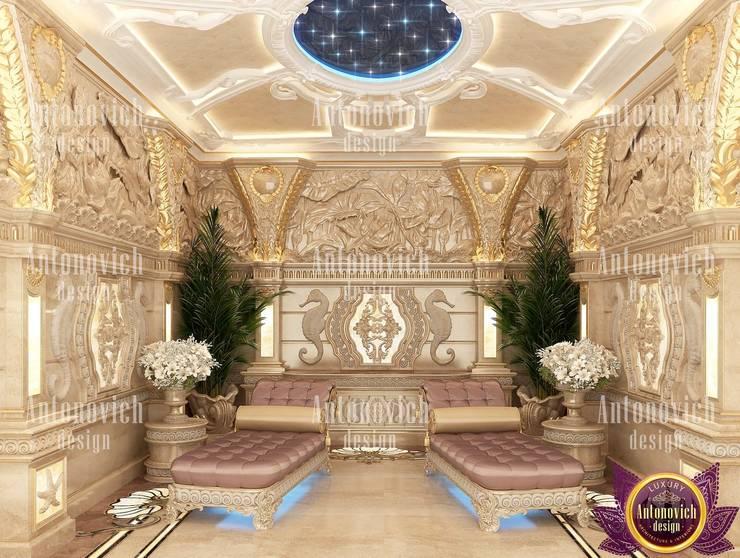 SPA interior design by Katrina Antonovich:  Spa by Luxury Antonovich Design, Asian