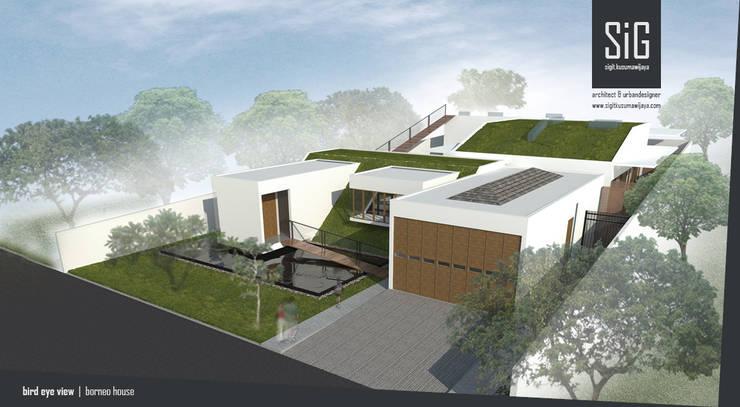 Borneo House:  Rumah by sigit.kusumawijaya | architect & urbandesigner