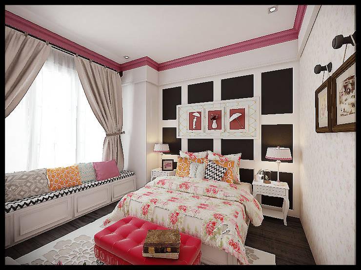 Girls room:  Kamar Bayi & Anak by VaDsign