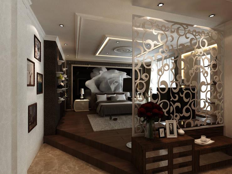Master bed room:  Kamar Tidur by VaDsign