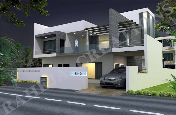 Interior:  Houses by Raheja Creations,Modern
