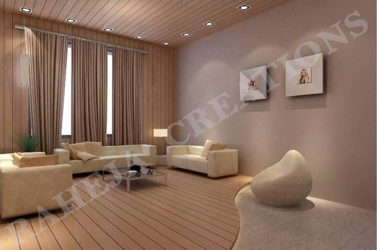 Salon moderne par Raheja Creations Moderne
