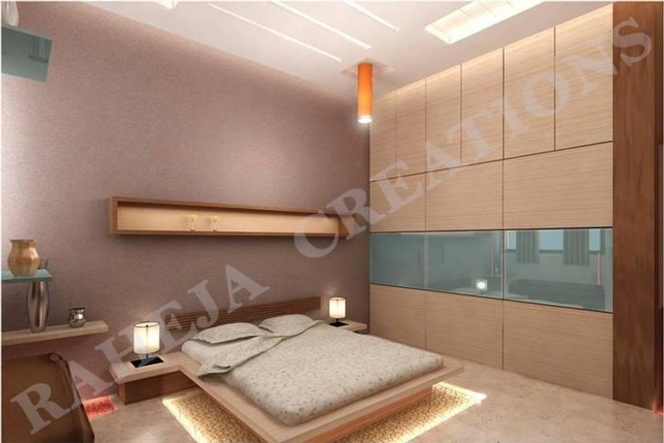 Interior Moderne Schlafzimmer von Raheja Creations Modern