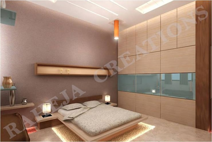 Interior:  Bedroom by Raheja Creations,Modern