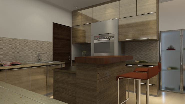 Project 10: modern Kitchen by Rhythm  And Emphasis Design Studio