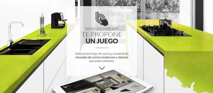 Jugá y Crea la Mesada que estás soñando: Cocinas de estilo  por Technistone Argentina,