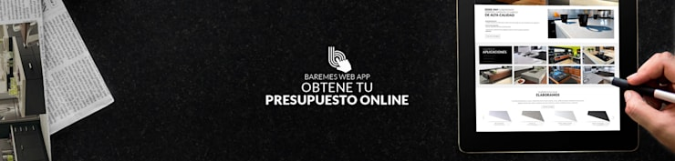 Presupuestá Online la mesada que estás soñando: Cocinas de estilo  por Technistone Argentina,