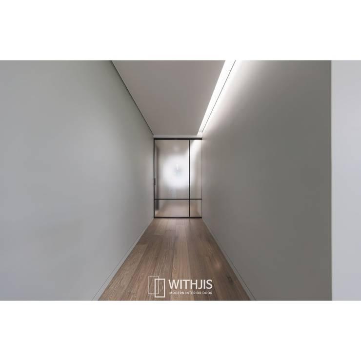 고급 유리 중문: WITHJIS(위드지스)의  문,