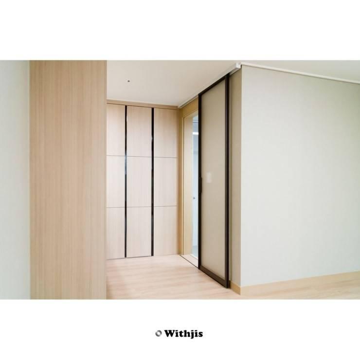글라스슬라이딩도어: WITHJIS(위드지스)의  문,