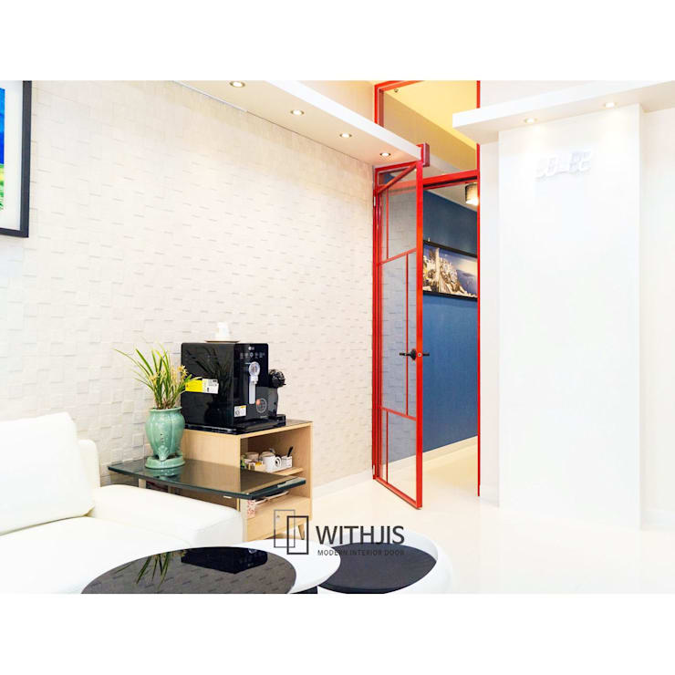 알루미늄 중문: WITHJIS(위드지스)의  문,