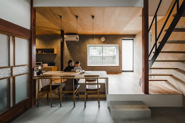 shimotoyama-house-renovation: ALTS DESIGN OFFICEが手掛けたダイニングです。
