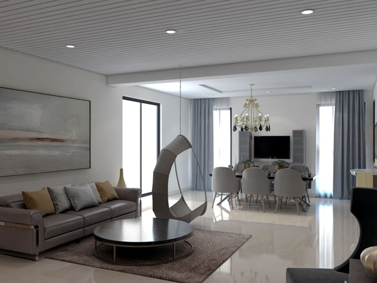 """Living room adjoined with dining room : {:asian=>""""asian"""", :classic=>""""classic"""", :colonial=>""""colonial"""", :country=>""""country"""", :eclectic=>""""eclectic"""", :industrial=>""""industrial"""", :mediterranean=>""""mediterranean"""", :minimalist=>""""minimalist"""", :modern=>""""modern"""", :rustic=>""""rustic"""", :scandinavian=>""""scandinavian"""", :tropical=>""""tropical""""}  by Rhythm  And Emphasis Design Studio ,"""