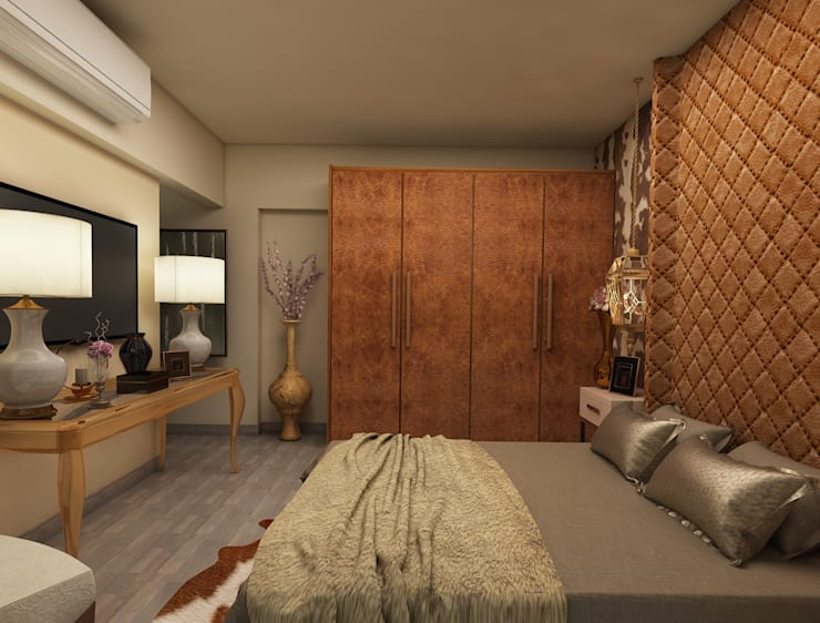 Amazing bedroom design :  Bedroom by Rhythm  And Emphasis Design Studio ,Classic