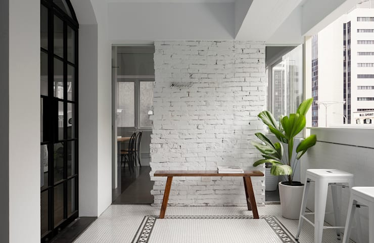 Terrasse de style  par Studio In2 深活生活設計