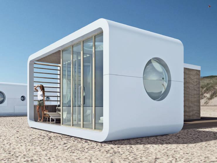 S.HOUSE:  Prefab woning door PLEKvoor, Modern