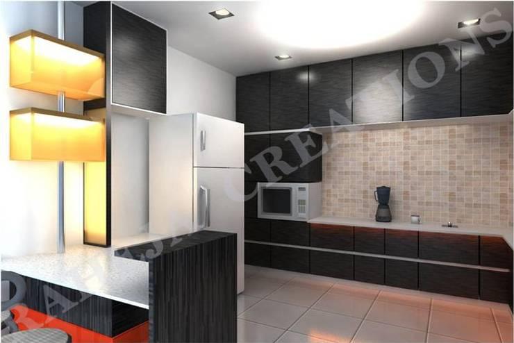 Interior:  Kitchen by Raheja Creations,Modern