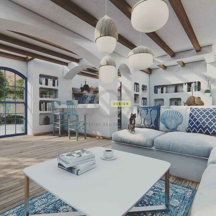 غرفة المعيشة تنفيذ Vox Design