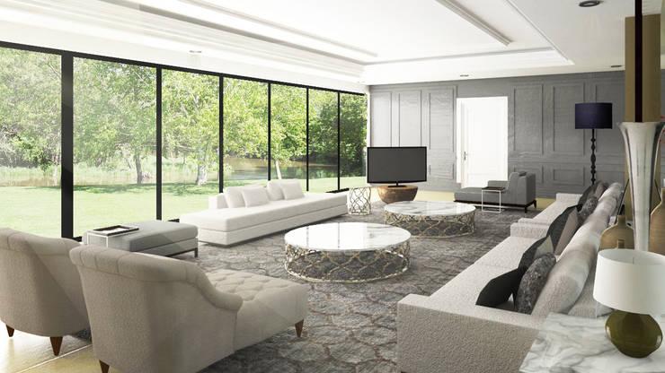 classic Living room by SAE Studio (PT. Shiva Ardhyanesha Estetika)